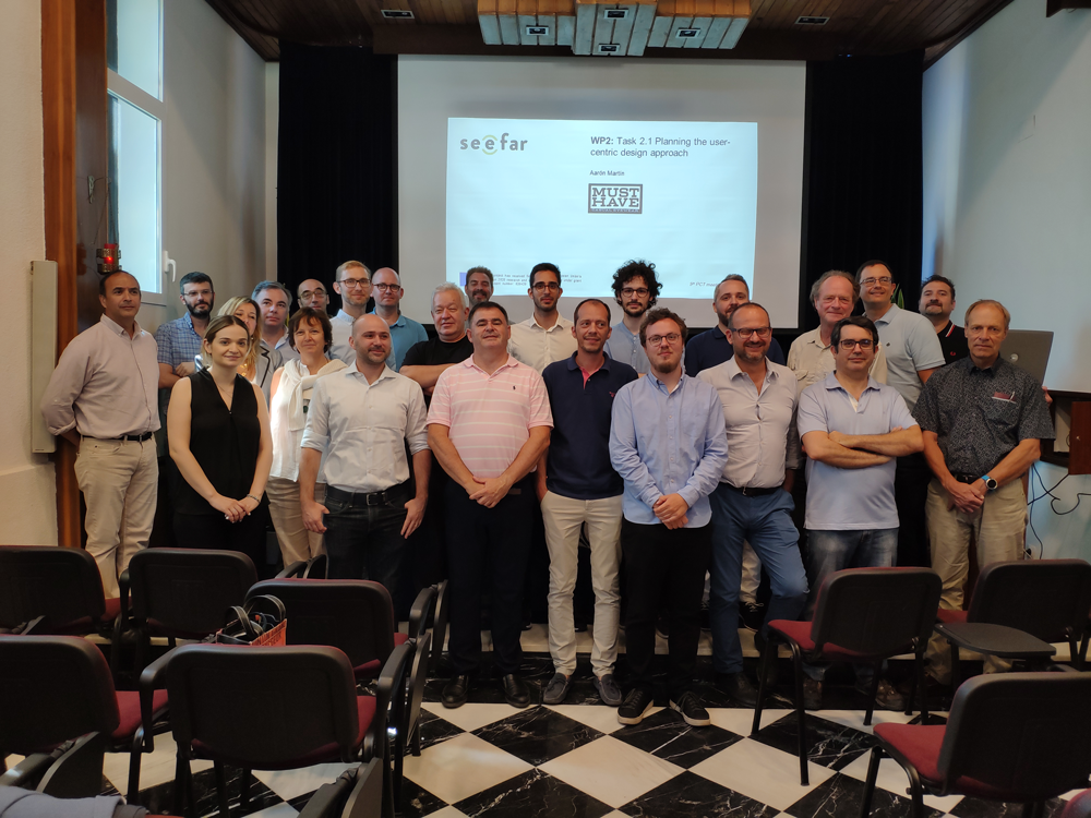 The See Far project consortium held its second plenary meeting in Madrid, on the days 10 and 11 of July 2019