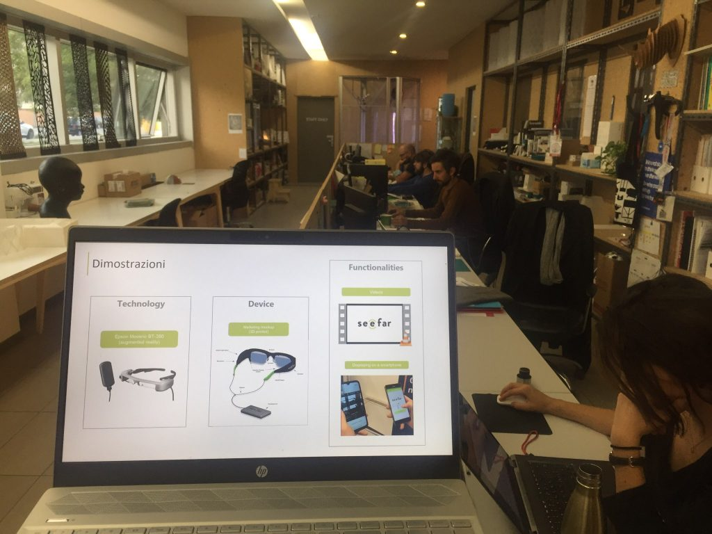 See Far smart glasses organized the second Focus Group in Italy